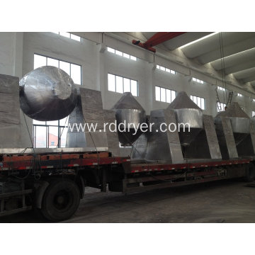 Double Cone Low Temperature Rotary Vacuum Dryer in Pharma Industry