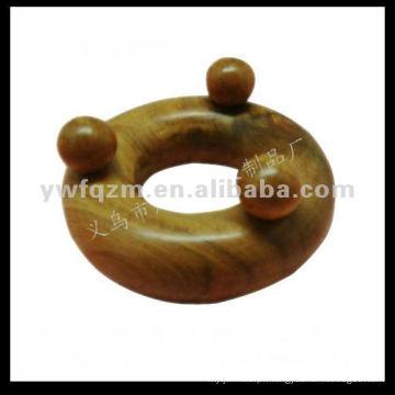 massager do corpo de madeira do círculo