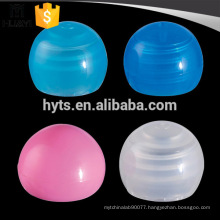 20/410 plastic screw round cap for plastic cosmetic lotion bottle