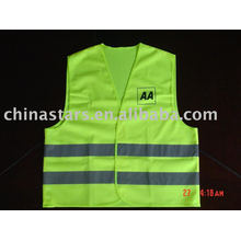 EN471 Class 2 & ANSI/ISEA 107-2004 Class 2 high visibility safety vest