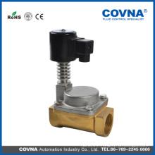 """Electrovanne de haute qualité 24v vapeur huile thermique 1/2 """"valve 300 degrés C"""