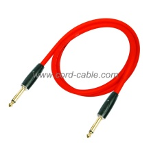 DFS Series Professional Instrument Guitar Cable Jack to Jack Orange