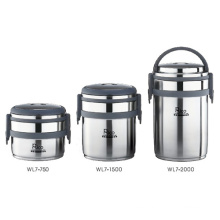 Stainless Steel Vacuum Lunch Box (WL7-750, WL7-1500, WL7-2000)