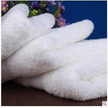 """Luxus Hotel & Spa Badetuch 100% echte türkische Baumwolle, 27 """"x 54"""", 4er Set, weiß"""