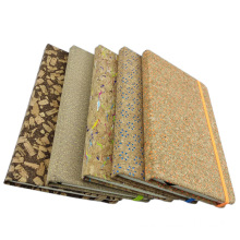 slub veins portugal Natural PU Cork Fabric leather