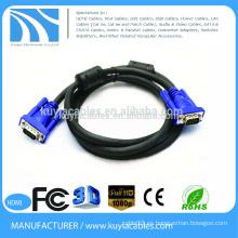 VGA de 15pin al cable coaxial diagrama de cableado vga cable macho a hembra cable macho a macho cable