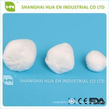 ISO CE aprobado por la FDA Bola no tejida médica absorbente alta