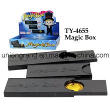 Juguete plástico de la caja mágica