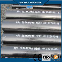 Tuyau d'acier au carbone / tuyaux en acier sans soudure / tuyau sans soudure de gaz et d'huile