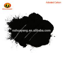 200-325mesm carbón basado en madera de carbón activado para Sugar Decooring y Refining