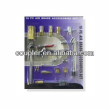 18 PC AIR BRASS ACCESSORIES SET