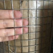 Rollos de malla de alambre soldado de acero inoxidable para la construcción