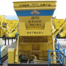 Motor eléctrico Js750 para el mezclador concreto, mezclador concreto portátil