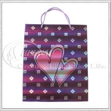 Sac en papier avec coeur (KG-PB029)