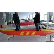 Kayak de pesca inflable con Pedal