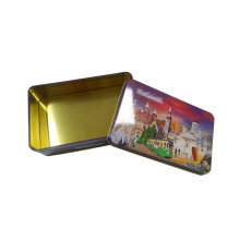 Fast Delivery In Low Price USB Gift Boxes Custom Logo USB Tea Candy Packaging Metal Tin Box