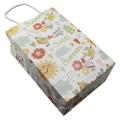 Упаковка игрушек Крафт-бумага Портативная сумка Магазин одежды Покупки Упаковка бумажный мешок с ручками