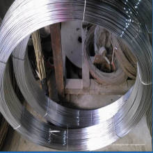 Fio de aço galvanizado oval de alta resistência à tensão