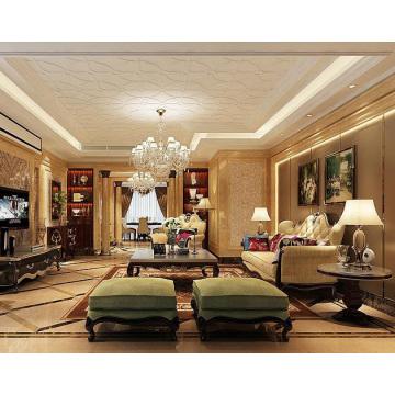 Decorative pvc 3D ceiling/wall panel /wallpaper