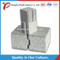 Anti Earthquake Saving Energy Exterior Wall Precast Steel Frame Panel Cement Wall