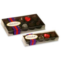 Caja de caramelos de plástico desechable