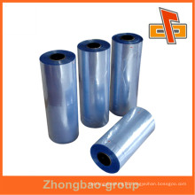 Printing Heat Shrink Plastic Color Wrapping Film Roll From Factory