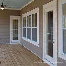 Qualité supérieure bon design fait sur commande pas cher Windows Upvc et portes / fenêtres en PVC et portes