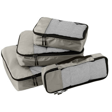 Travel Packing Cubes Tvätt Tvätt Set