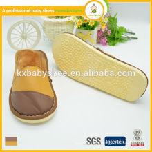 2015 Nouvelle arrivée chaude vente haute qualité hiver intérieur chaussure en cuir homme pantoufles