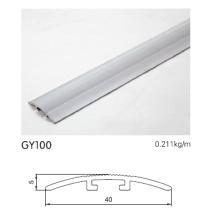 Aluminio Plata Color T Forma Trim
