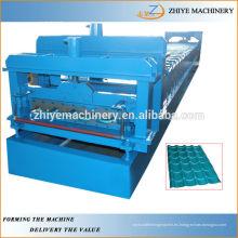 Cubiertas galvanizadas de metal para la fabricación de frío de azulejos maquinaria ZY-GR066