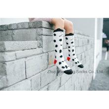 Popular Fashion Girl Cotton Tighs Girl Stocking Manchette d'élasticité 3D Design