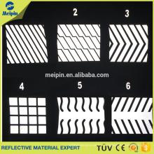 Reflective Vinyl Transfer Segmented Trim