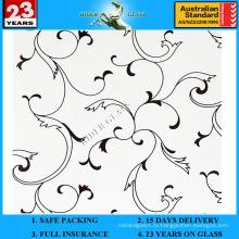 3-6мм АМ-63 декоративное Кисловочное Травленое матовое художественного архитектурного зеркало