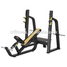 Banco comercial do declive do gym da máquina do exercício do Gym