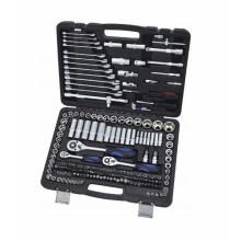 Soquete do agregado familiar de Cr-V 218PCS para ferramentas da mão
