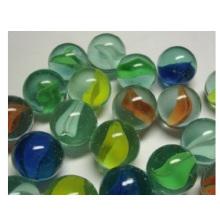 16-35 мм. Прозрачные сплошные макароны. Одиночные шарики из мраморной игрушки