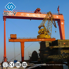 Heavy Duty 200 Ton Ship Gantry Crane Fabricante experto producto