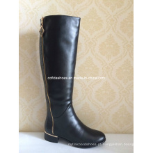 Simple Comfort Flat Fashion Rubber Women Boots