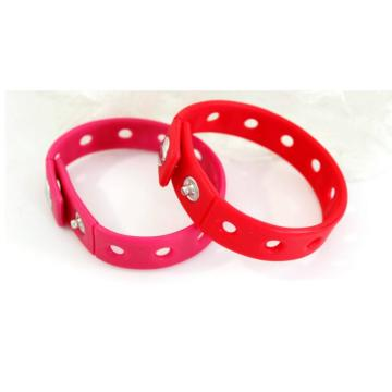 Venda Por Atacado Silicone Kids Bracelet Rubber Band
