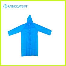 Manteau imperméable à glaçons PE avec manche (RPE-063)