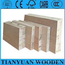 Linyi 15mm 18mm tablero del bloque de madera de 21m m para los muebles