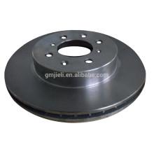 Fundición profesional de precisión de fundición de inversión / silicio Sol Proceso de freno de disco de coche / freno de coche de alta calidad