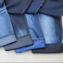 Tela da sarja de Nimes do algodão do algodão de 8oz ~ 13oz para calças de brim