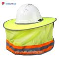 2018 Nouvelle ombre de soleil extérieure pour le casque de sécurité, protection de tête Usure pleine couverture de chapeau dur de sécurité pour la vente en gros
