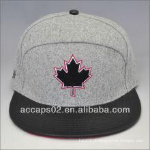 Chapéu de snapback de moda melton