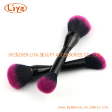 Cosmetics Dual Ended Concealer foundation Brush balck handle