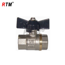 forging brass ball valve with handle