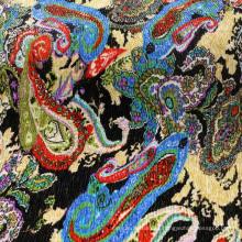 Impresión de poliéster crepé de tela para el vestido / abrigo