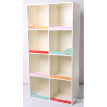 Factory Supply Boîte de rangement en bois Conteneur de stockage Meubles pour enfants Cabinet pour enfants